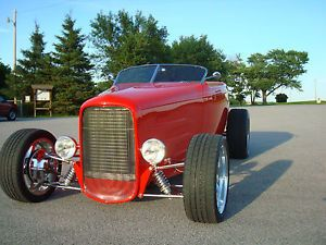 1932 Ford Roadster Hot Rod Halibrand