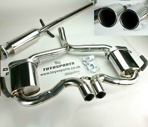 BMW Mini Cooper s Stainless Cat Back Exhaust System 02 06