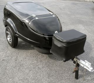 Motorcycle Trailer Pull Behind Cargo Behind Spyder Harley Goldwing More