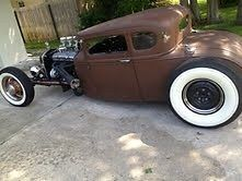 1928 Ford Model A Hot Rod Rat Rod Coupe