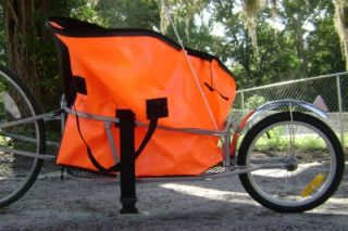 Single Wheel Bicycle Cargo Trailer Water Resist Bag
