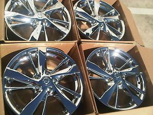 "17"" Nissan Altima Factory 2013 Factory Alloy Wheels Chrome Rims"