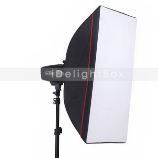180W Photo Studio Mini Flash Kit 50cm x 70cm Soft Box