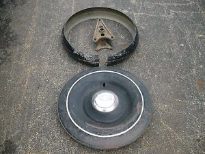 1935 1936 Ford Coupe Sedan Spare Tire Cover Lock Hot Rat Rod 1933 1934 35 36
