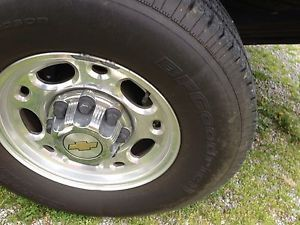 Stock Chevy Truck Rims and Tires