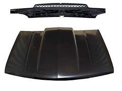 Cowl Induction Hood with Straight Cowl Chevy GMC Trucks SUVs