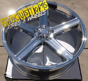 "26"" inch Rims Wheels Tires IROC 5x127 Fleetwood Roadmaster C 10 Chevy Truck"
