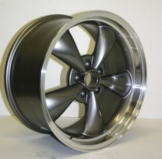 Mustang Anthracite Bullitt Wheels Tires Staggered 05 09