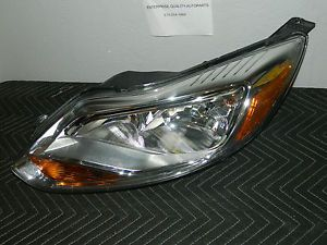 2012 2014 Ford Focus Left Driver Side Headlight Assembly