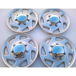 Set of 4 Hubcaps Ford Wheel Covers 16'' Tire Cover Truck Van Hubcaps GRT Deal