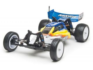 Associated RC10B4 2 Race Spec RTR Buggy Blue Yellow AS9042BY