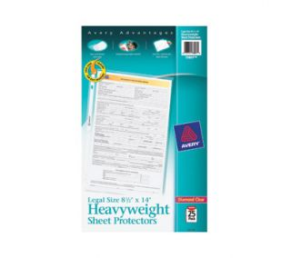 Avery Top Load Heavyweight Legal Size Sheet Protectors