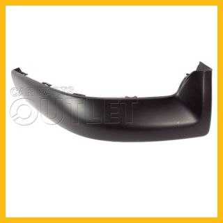 03 04 Toyota Matrix Front Bumper Air Dam TO1093107 Lower Spoiler Primered Right