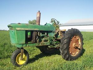 John Deere 3010 Diesel Tractor for Parts or Restoration Does Run and Drive