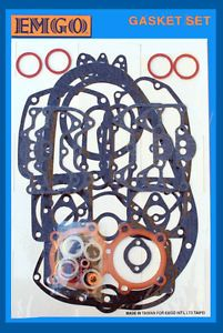 Triumph 650 T120 TR6 1963 73 Engine Gasket Kit with HG Emgo 12 00894435