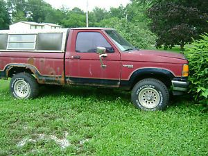 1989 Ford Ranger 4 Wheel Drive for Parts