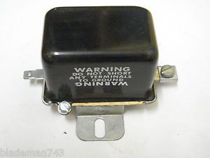 John Deere Voltage Regulator 12 Volt A TX12129