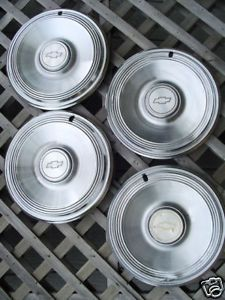 1973 73 Chevrolet Chevy Impala Hubcaps Wheel Covers Rim