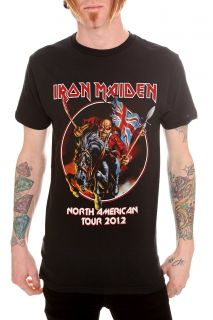 Iron Maiden North American Tour 2012 T Shirt