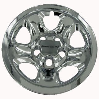 "4 PC Set 02 10 Dodge RAM 17"" Chrome Wheel Skins Hubcaps Covers Hub Caps 5 Lug"