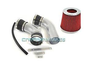 Black Red 93 94 97 Ford Probe GT Mazda MX6 626 2 5 2 5L V6 Cold Air Intake Kit