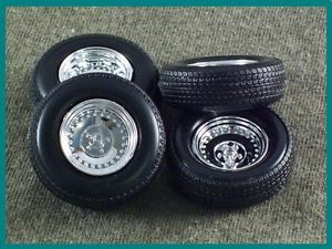 1 25 Scale Model Car Parts Junk Yard Center Line Wheels Tires