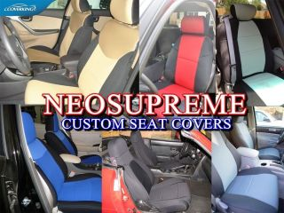Toyota Sienna Coverking Neosupreme Custom Fit Seat Covers New Colors