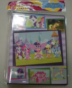 Ultra Pro 4 Pocket Binder Album Portfolio My Little Pony Friendship Magic Cards