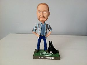 Scott for Scott's Lawn Care Grass Seed Bobblehead MLB Baseball