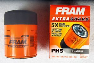 New PH5 Fram Extra Guard Truck Oil Filter Fits Cadillac Chevrolet GMC Truck
