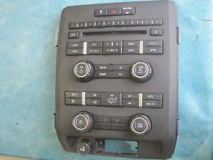 2009 2012 Ford F150 CD Radio Console Dash AC Control Panel Bezel 2010 2011