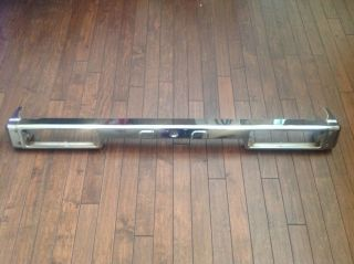 Suzuki Samurai Chrome Rear Bumper from A Special Edition '87 Samurai Good Cond