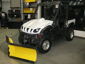 Used 2011 Yamaha Rhino UTV Sport Edition 4x4 Side by Side Utility Vehicle Plow