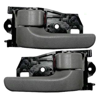 New Pair Set Inside Inner Interior Gray Door Handle Assembly Toyota Camry Sienna