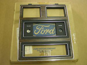 Ford 1973 1978 Galaxie 500 Dash Radio Bezel 1974 1975 1976 1977