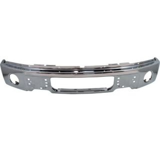 9L3Z17757B FO1002411 Front Bumper New Truck Chrome Ford F 150 F150 2012