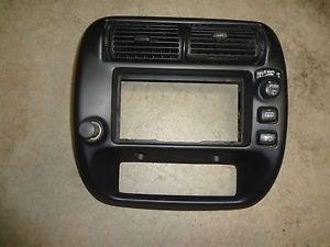 95 04 Ford Ranger Explorer Dash Radio Climate Bezel Trim Fog Light Panel