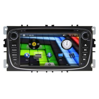 "7"" J 8628MX Ford Mondeo 2 DIN Car DVD GPS Bluetooth iPod FM Am WiFi 3G ATV"