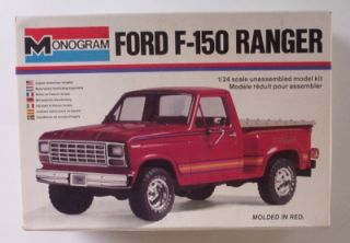 Ford F150 Truck 4x4 2262 Monogram 1 24 Bonus Parts Vtg Pickup Model Kit