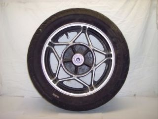 82 83 Honda CB750SC CB750 CB 750 SC Nighthawk MT3 00 x 16 Rear Tire Rim Wheel