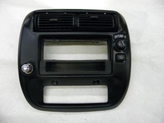 Ford Explorer Ranger Mazda Center Radio Dash Bezel Trim Vent Air Control Cover