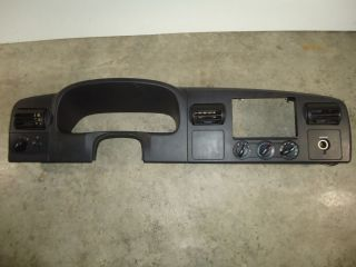 2005 2007 Ford F250 F350 Super Duty Dash Instrument Cluster Radio Bezel Black