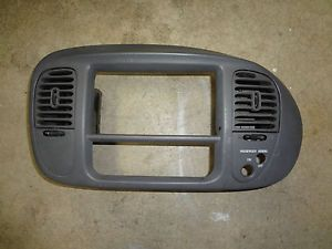 Ford Expedition 97 02 F150 Radio Climate Trim Bezel Dash Gray Surround Panel