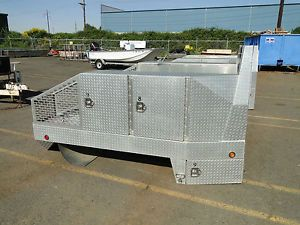 Diamond Plate Aluminum Truck Bed Utility Box