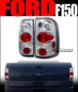Euro Chrome altezza Tail Lights Lamps 2004 2008 Ford F150 Truck Cab Styleside