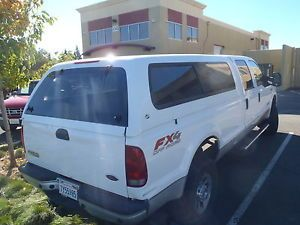 MCM Legacy Ford Leer Shell camper Utility Snugtop Glasstite 1999 Up Long Bed