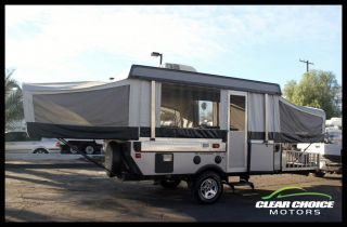 2007 Fleetwood Evolution E3 27' Tent Trailer Slide Out Sleeps 8 Bathroom