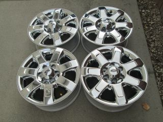 "18"" Ford F150 Truck F150 Expedition Chrome Factory Wheels Rims 2013"