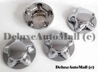 "Ford F150 Expedition Chrome New Wheel Center Caps Set of 4 7"" Wide"