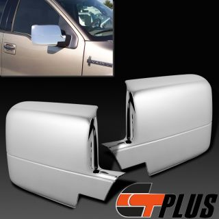 2004 2008 Ford F150 Pickup Lincoln Mark Lt Triple Chrome Mirror Cover Trim 06 07